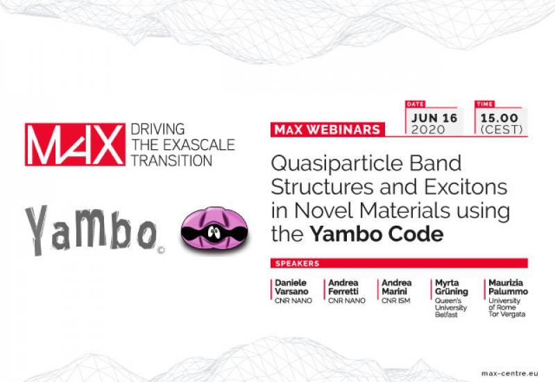 Yambo webinar
