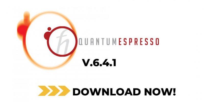 QUANTUM ESPRESSO V.6.4.1