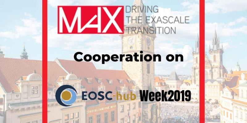 MaX on EOSC Hub Week