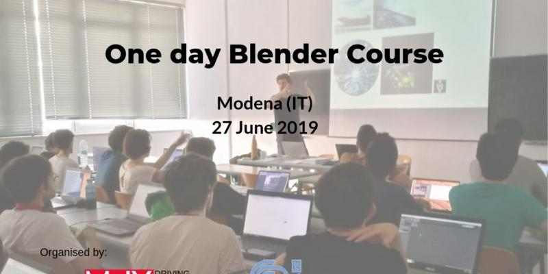 One day Blender Course @ Modena (IT)
