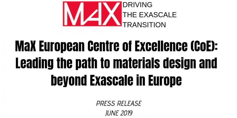 MaX_June Press Release
