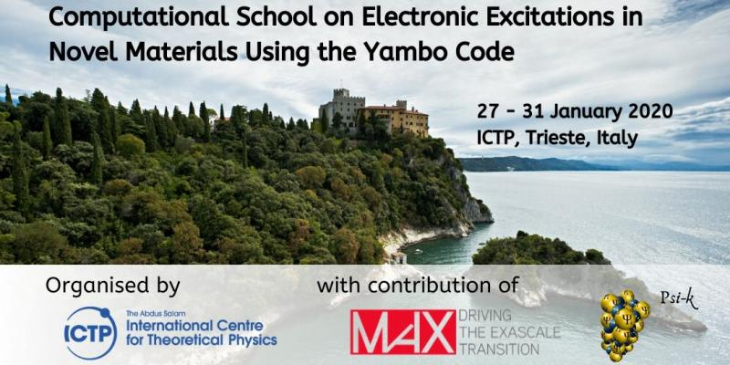 Computational School on Electronic Excitations in Novel Materials Using the Yambo Code